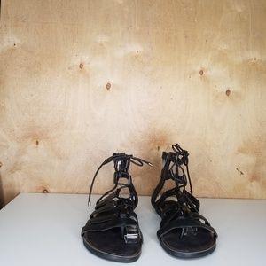Gianni Bini Shoes - Black Gladiator Sandles 6.5 Gianni Bini